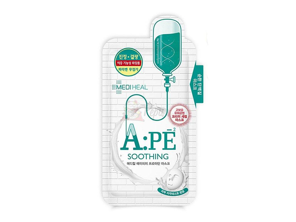 Mediheal APÉ Sooting Face Sheet Mask 25ml KOR