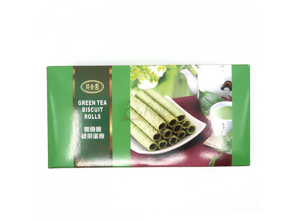 Trubičky s příchutí zeleného čaje - PEPIS.SHOP