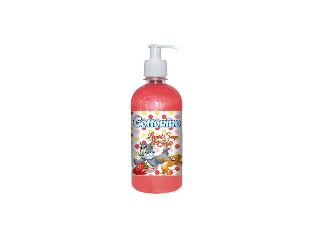 Cottonino Tom Jerry Tekuté Mýdlo Jahodové 500ml EU