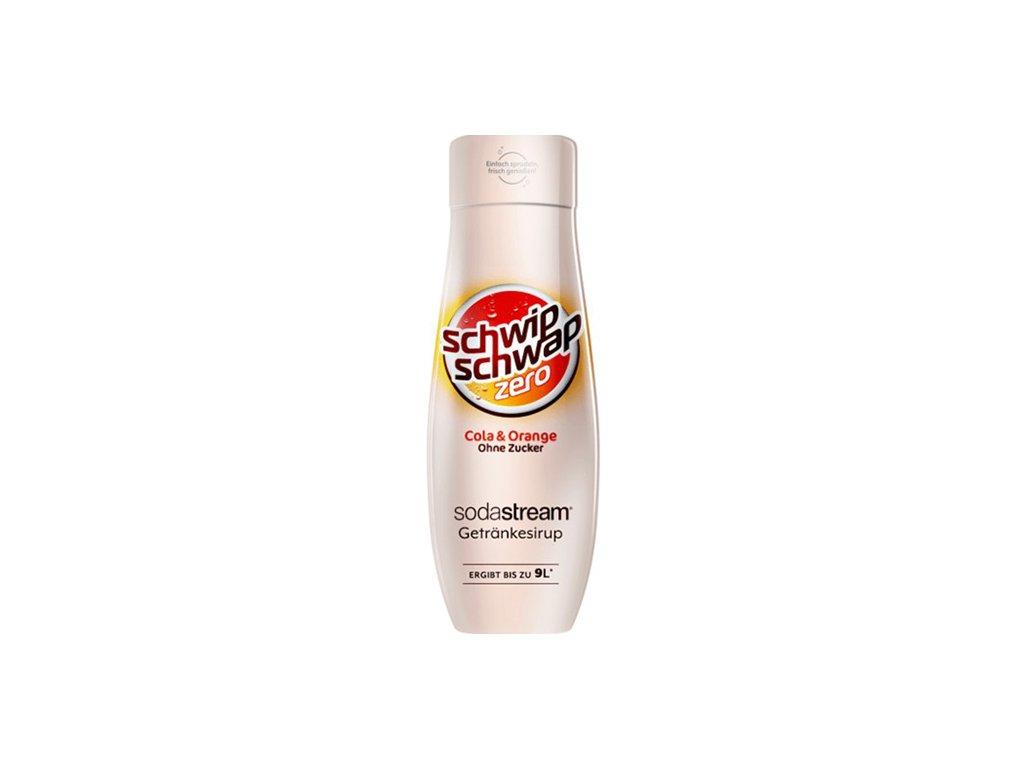 Schwip Schwap Cola Orange Zero Bez Cukru Sodastream 440ml AUS