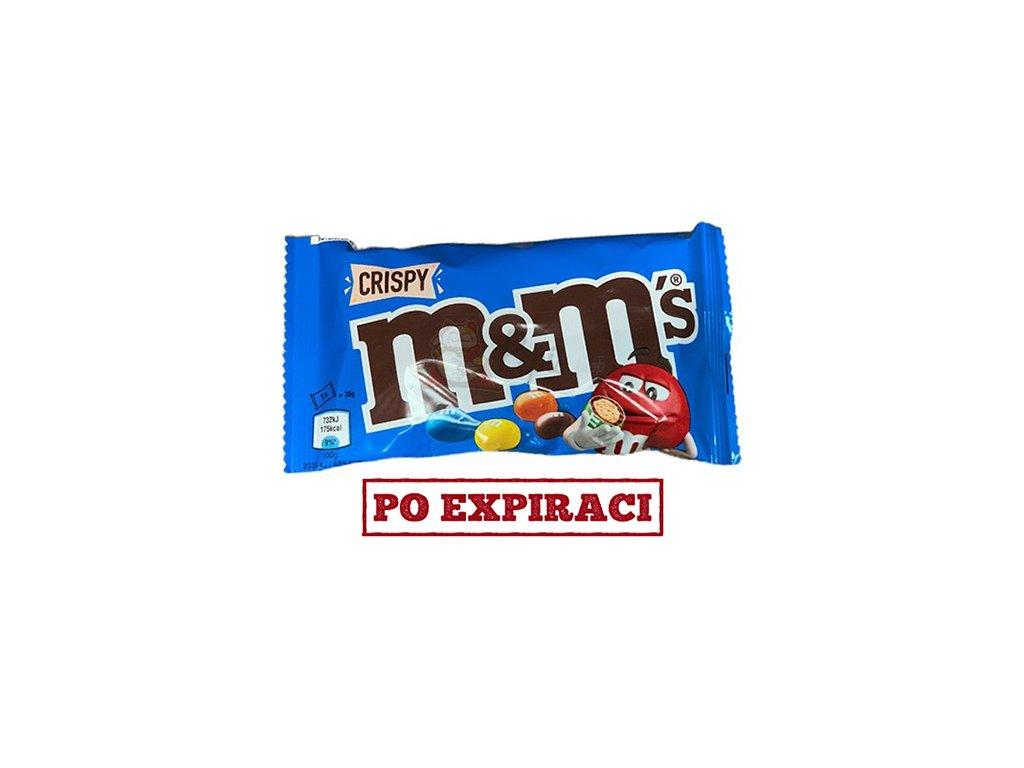 M&M's Crispy 36g POL a DEU