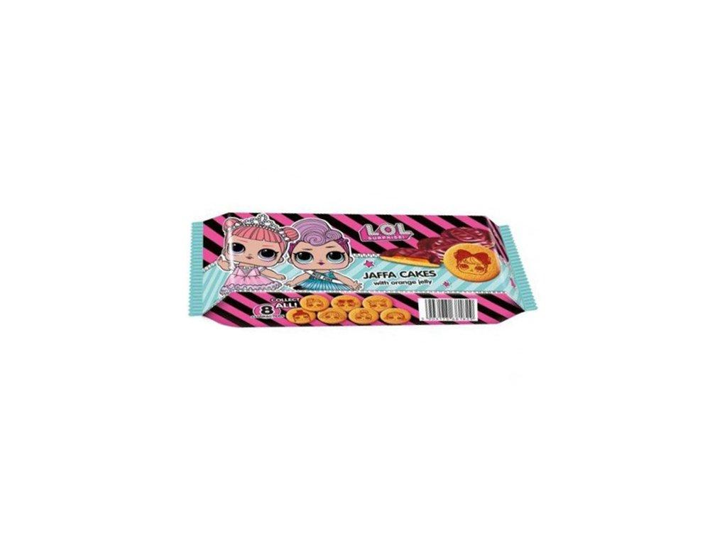 LOL Piškoty v Čokoládě 135g EU