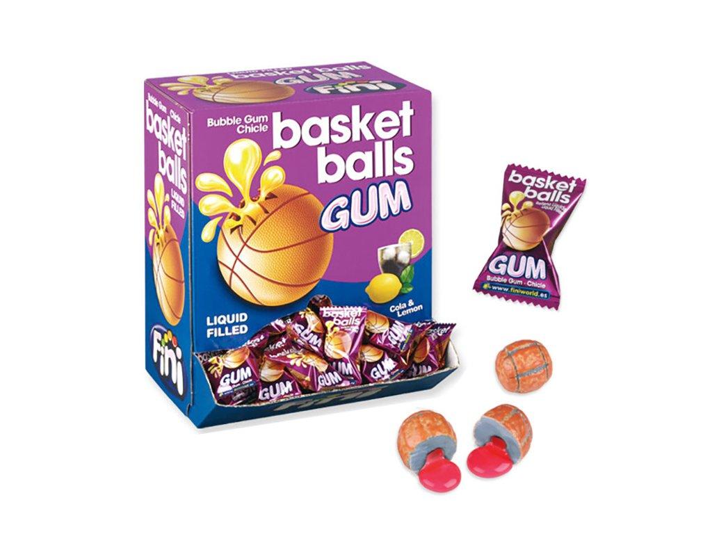 Fini Basket Ball Žvýkačka 1ks 5g ESP