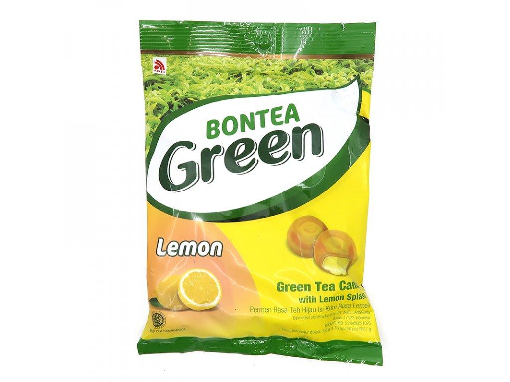 Citronové bonbóny s příchutí zeleného čaje - PEPIS.SHOP