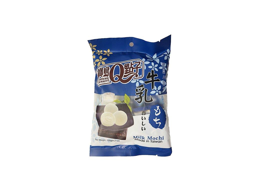 Mochi Rýžové Koláčky Individuálně Balené Milk Mléčné 120g TWN