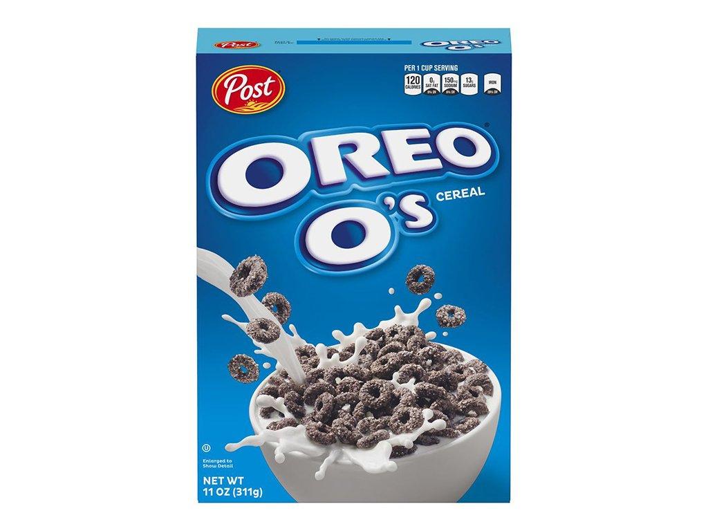 Oreo's Cereal Snídaňové Cereálie 311g USA