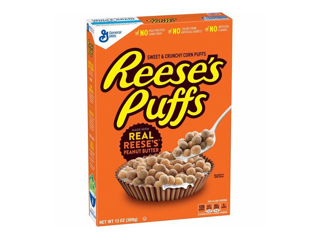 Reese's Puffs Snídaňové Cereálie 326g USA