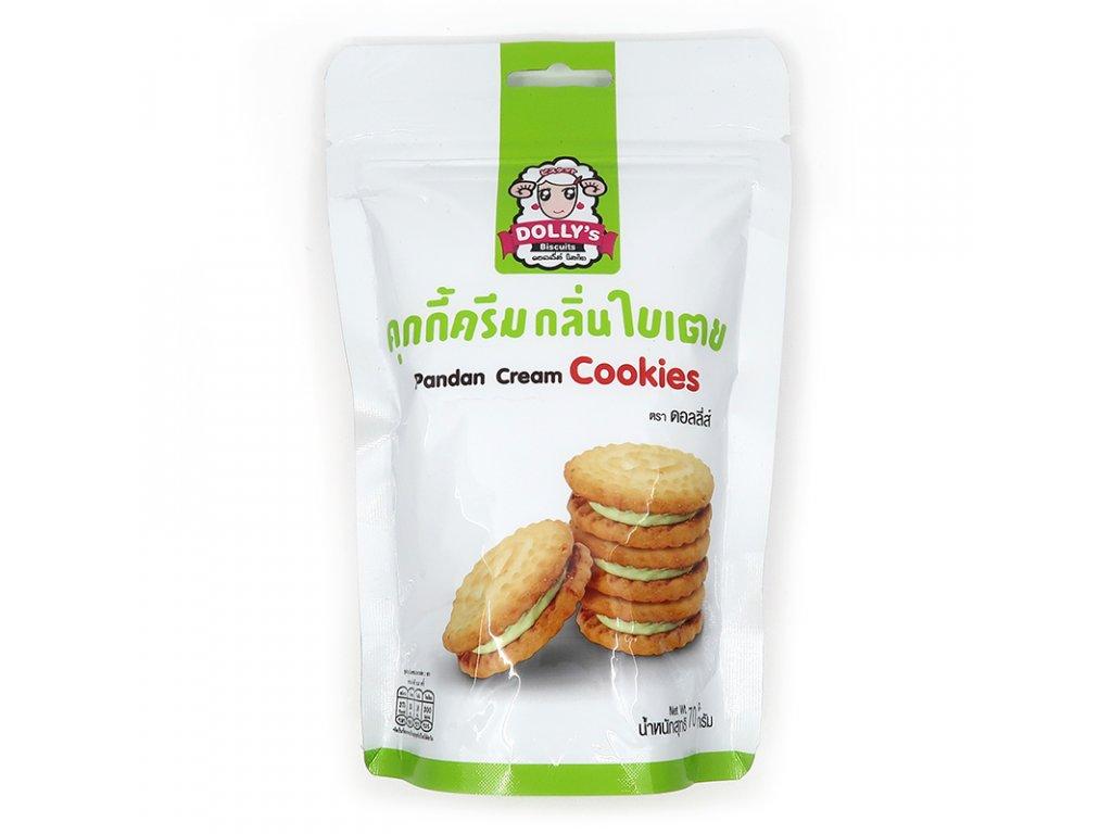 Krémové sušenky s pandanem - PEPIS.SHOP