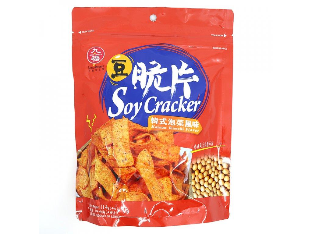 Sojové krekry s příchutí kimchi - PEPIS.SHOP