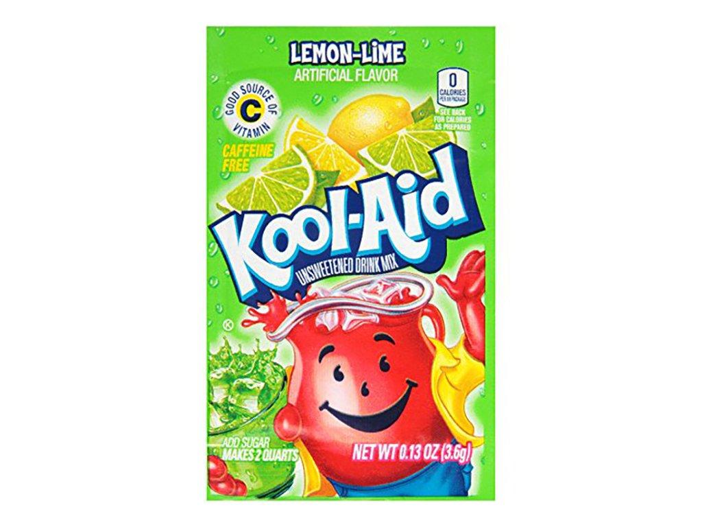 Kool Aid Instantní Ovocný Nápoj Lemon Lime 4.6g USA