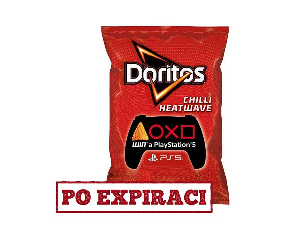 Po Expiraci Doritos Chilli Heatwave 150g UK