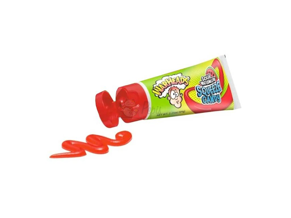 Warheads Sour Watermelon Squeeze Candy 64g USA