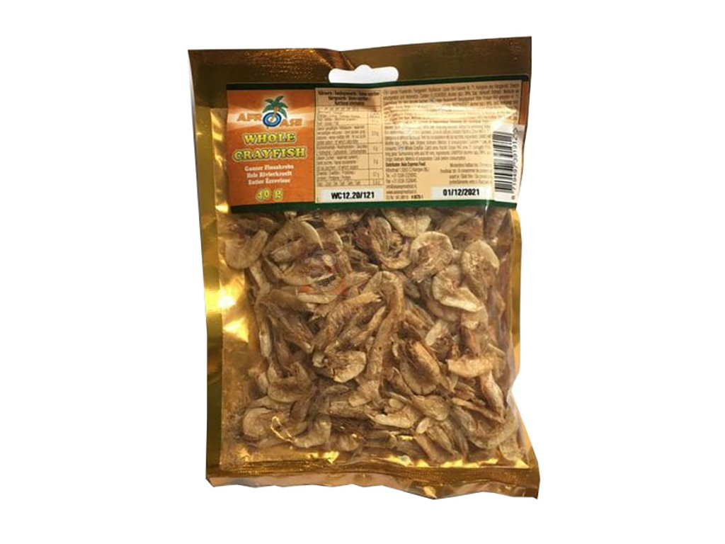 Afroase Dried Whole Crayfish 40g VNM