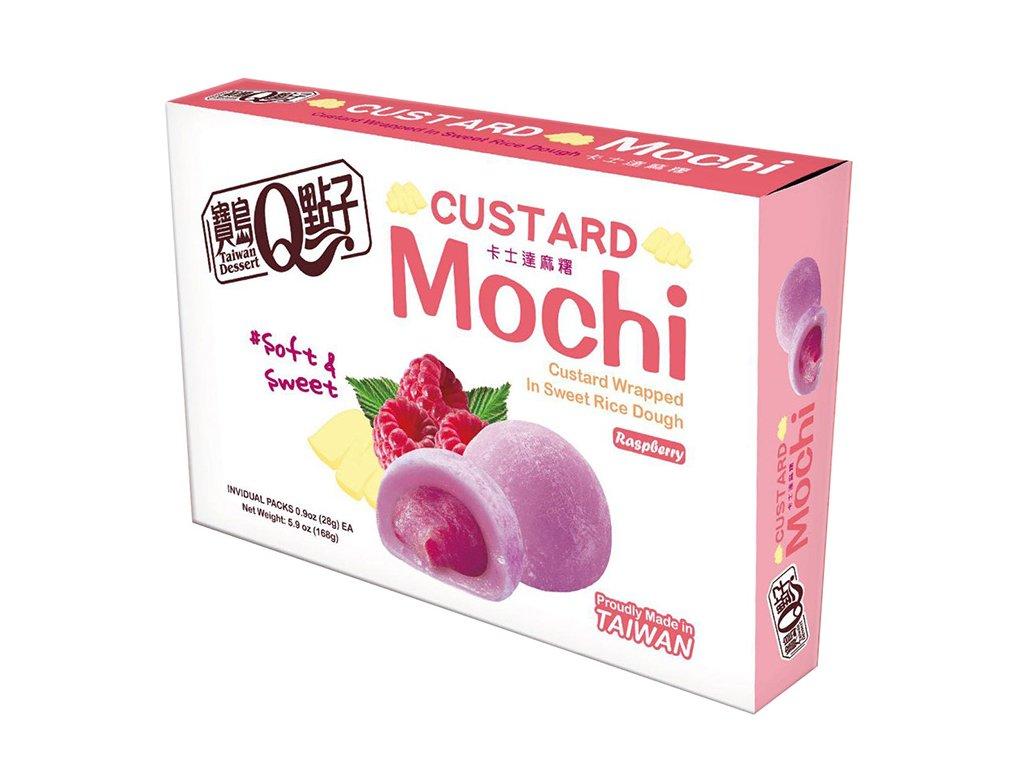 Mochi Custard Raspberry Fruit 168g TWN