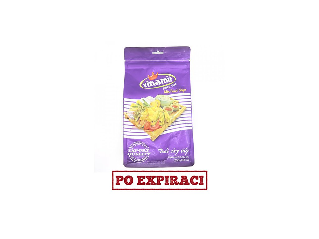 Vinamit ovocný mix chipsy 250g VNM