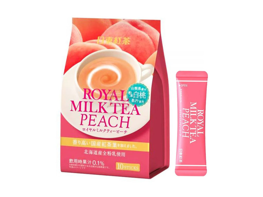 Nito Royal Milk Tea Peach 1ks 14g JAP
