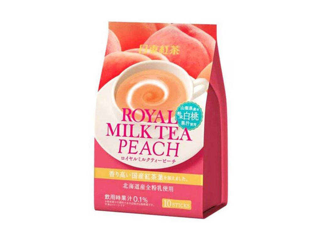 Nito Royal Milk Tea Peach Balení 140g JAP