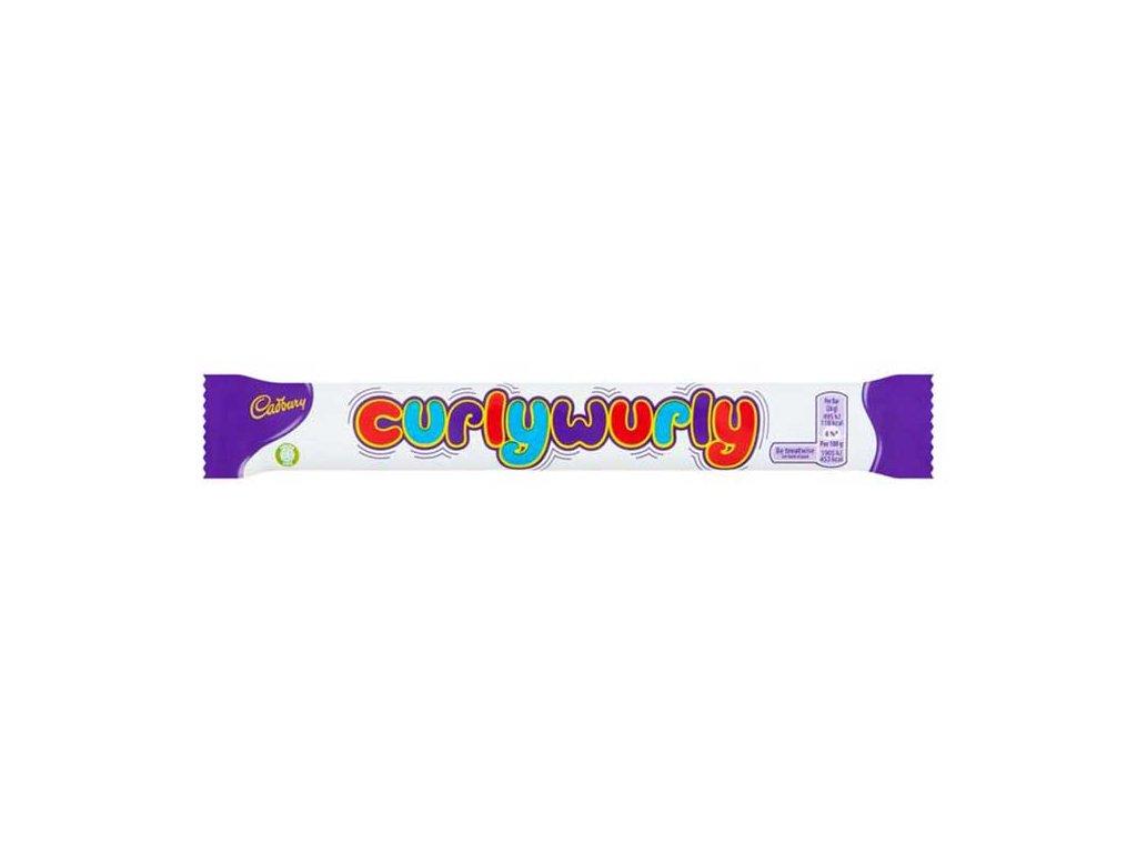Cadbury Curly Wurly Sušenka 26g DEU