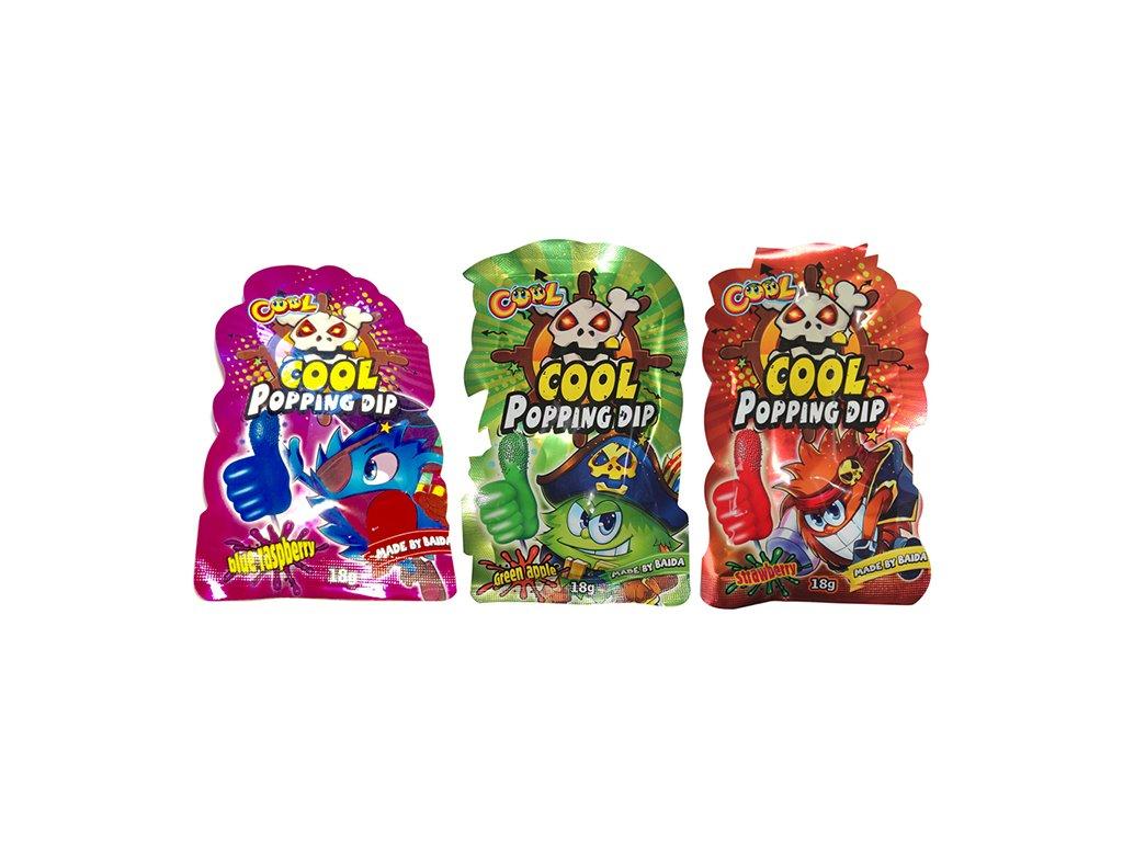Cool Popping Dip Náhodný Druh 1ks 18g CHN 1