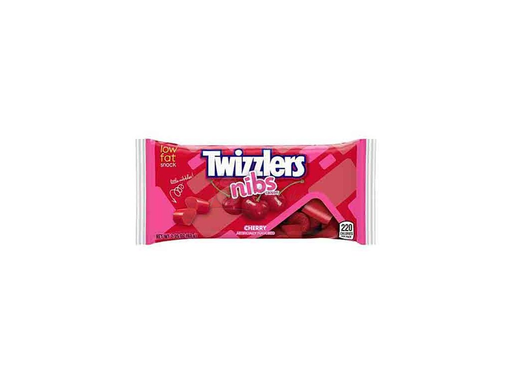 Twizzlers Cherry Nibs Candy 63g USA