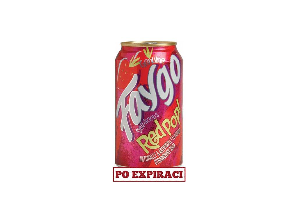 Faygo Red Pop 355ml USA