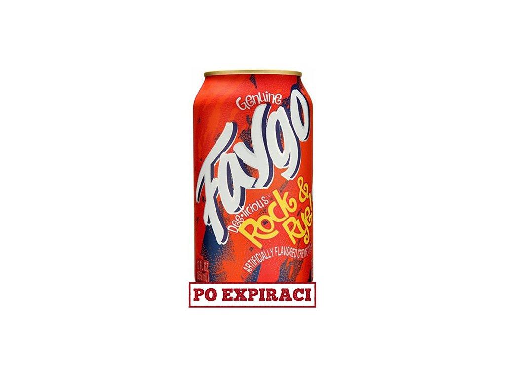 Faygo Rock & Rye 355ml USA
