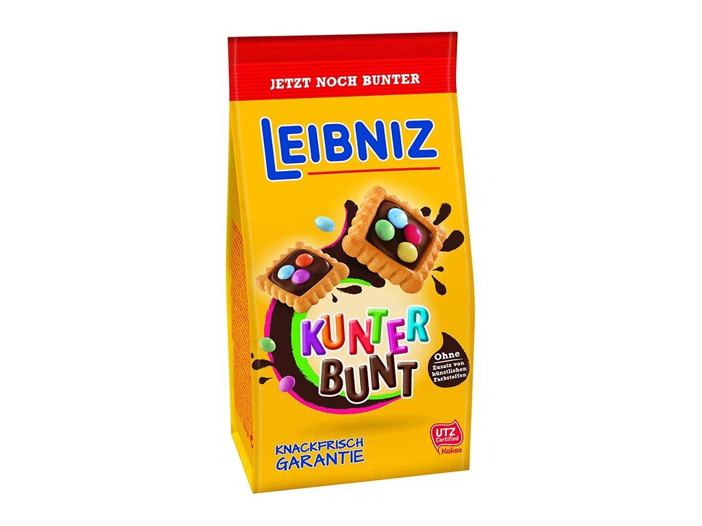 Leibniz Kunter Bunt Sušenky Čokoláda A Lentilky 150g DEU