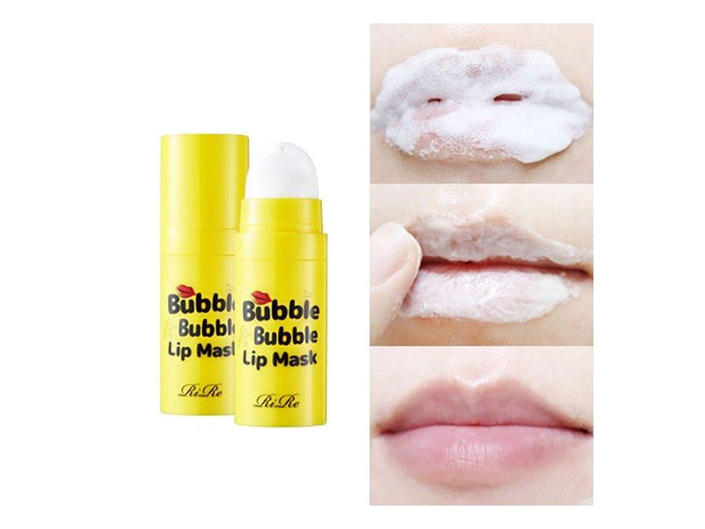 RIRE Bubble Lip Mask Bublající Maska Na Rty 30g KOR