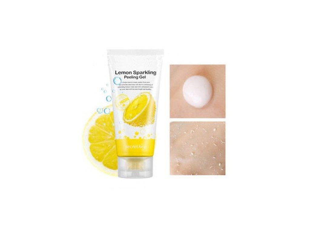 Secret Key Lemon Sparkling Peelingový Gel 120ml KOR