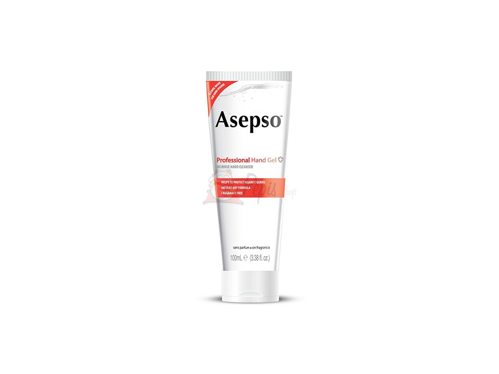 Asepso No Rinse Hand Cleanser Čistící Gel Na Ruce 100ml EU