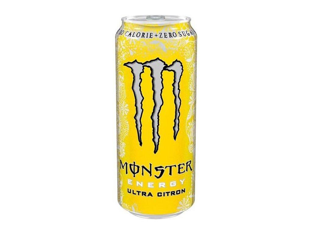 Monster Ultra Citron Energy Drink 500ml IRL