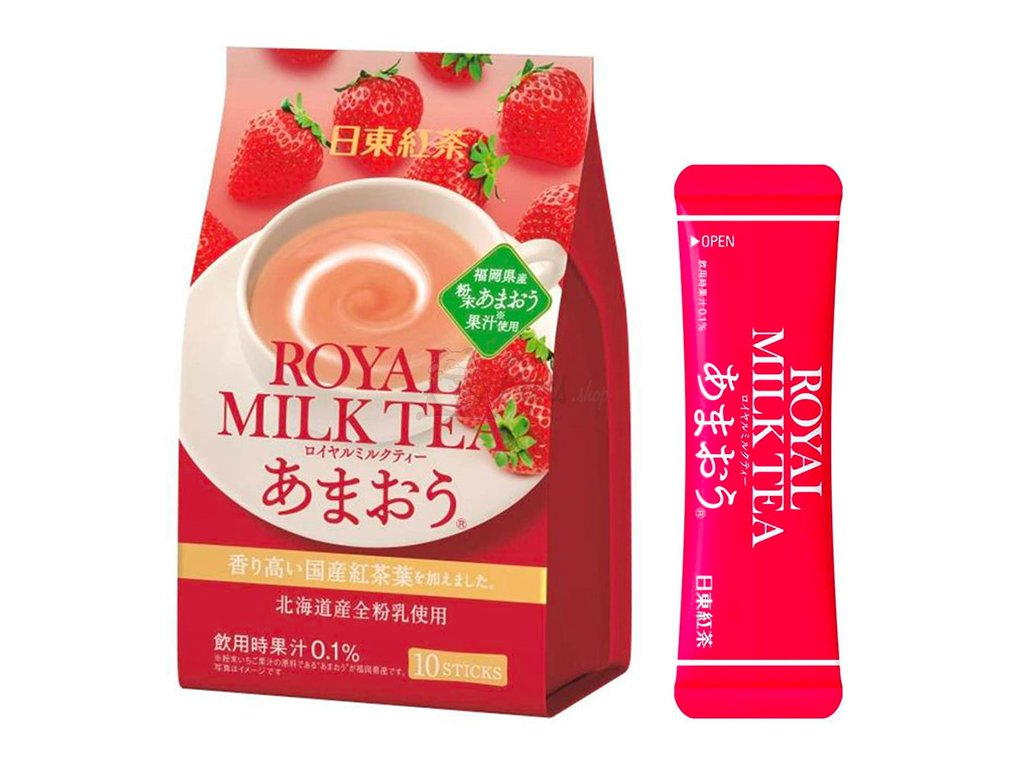 Royal Milk Tea Strawberry 1 ks 14g JAP