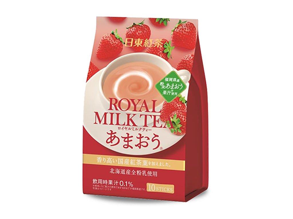 Royal Milk Tea Strawberry Balení (10x14g) JAP
