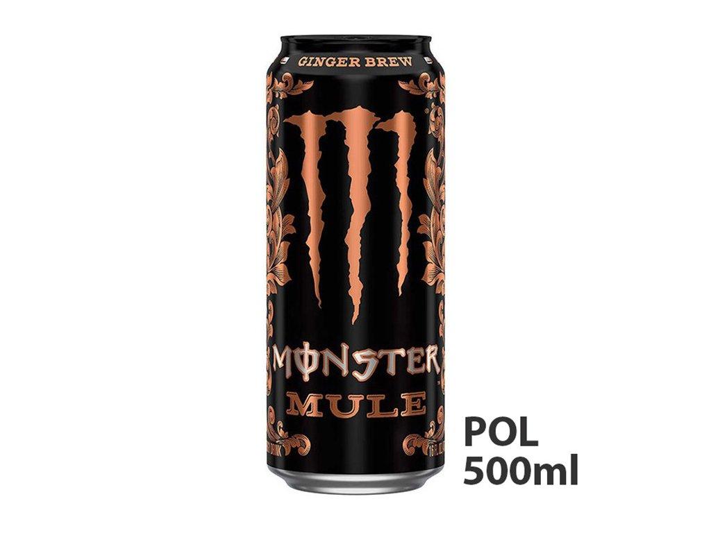 Monster Mule Ginger Brew Energy Drink 500ml POL