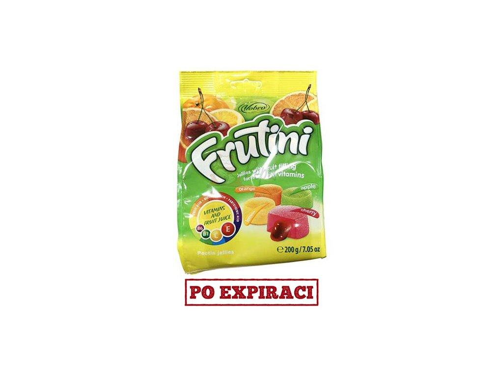 Vobro Fruitini Jellies Ovocné Bonbóny 200g EU