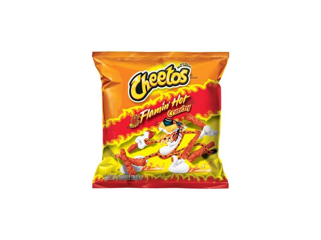 Cheetos Flamin' Hot Crunchy Křupky 35,4g USA