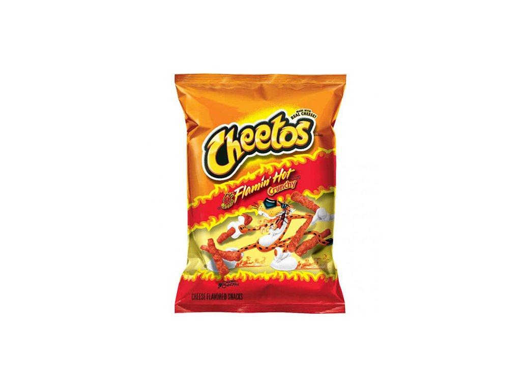 Cheetos Flamin' Hot Crunchy Cheese Křupky 226,8g USA