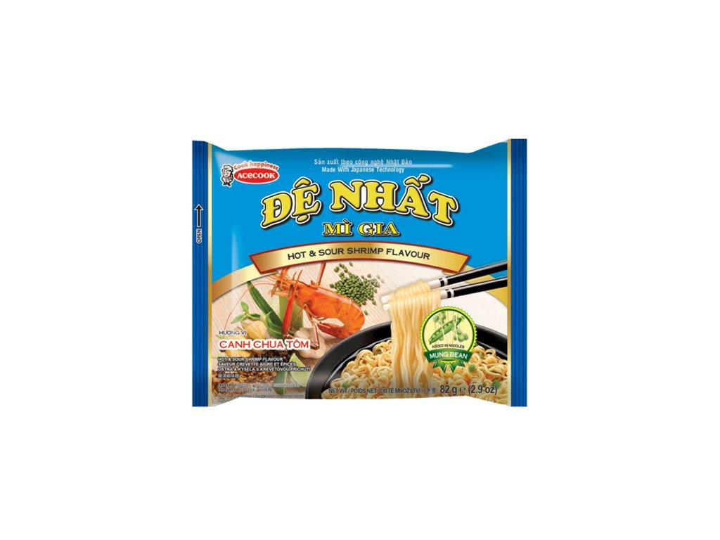 De Nhat Hot Sour Shrimp Instantní Nudle Krevetové 83g VNM