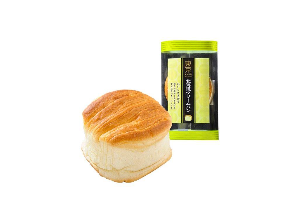 Tokyo Bread Tokachi Cream Japonská Krémová Buchtička 70g JAP