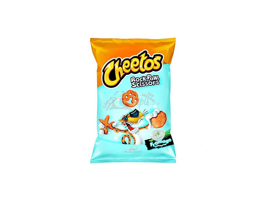 Cheetos Rock Paw Scissors Fromage 85g POL