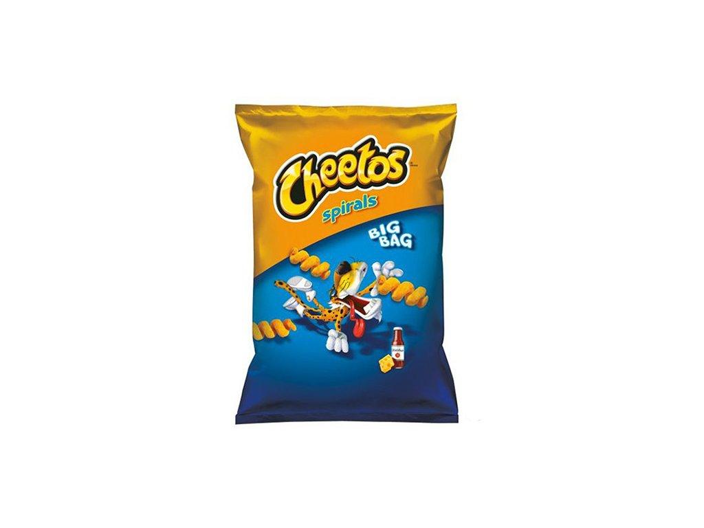 Cheetos Spirals Sýr Ketchup 80g POL