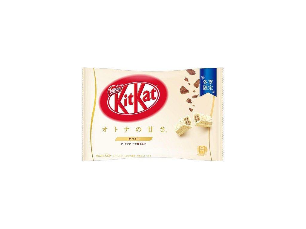 KitKat Mini Otona No Amasa Cookies Cream Krémové Sušenky Balení 12ks 118g JAP