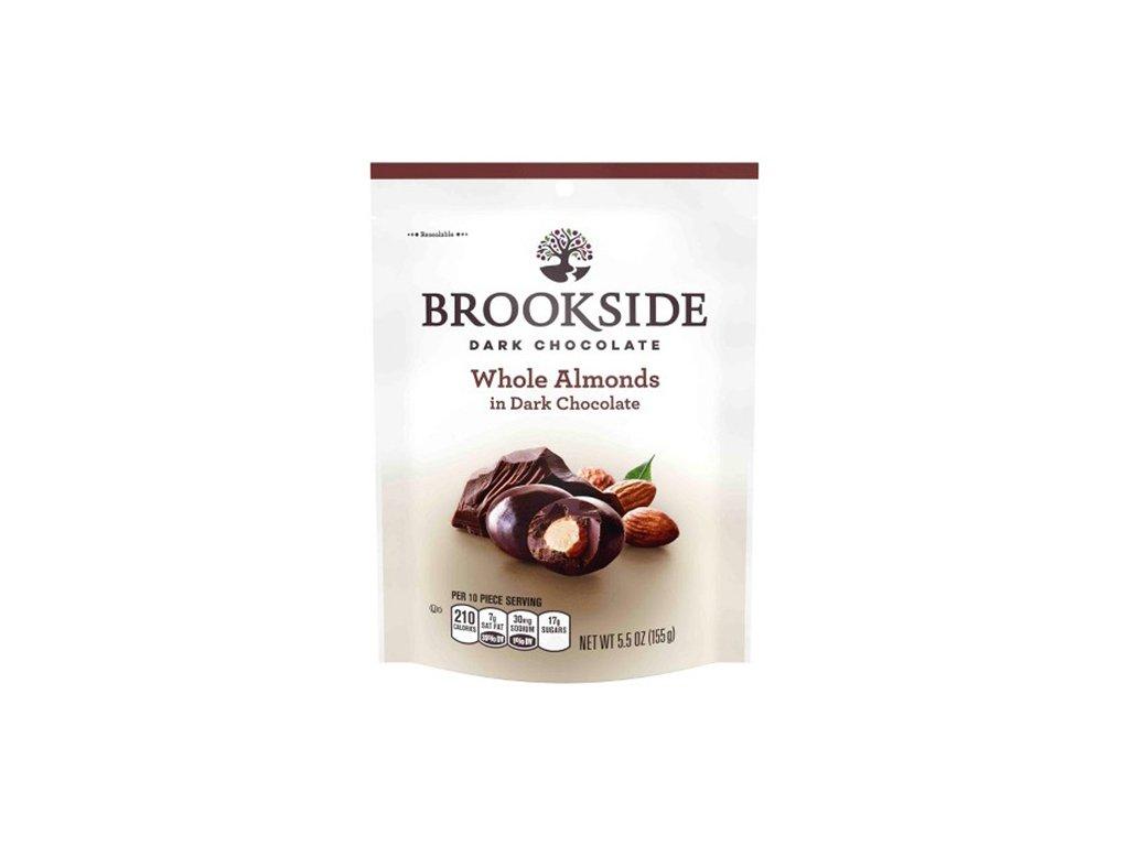 Brookside Dark Chocolate Whole Almonds 155g USA