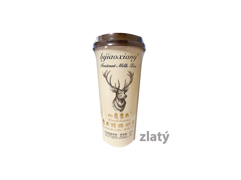 Gold Instant Tapioca Bubble Milk Tea Brown Sugar Xiaoluluwan 123g TWN