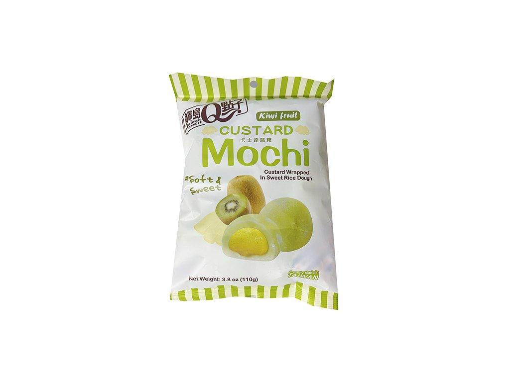 Mochi Custard Kiwi Fruit Individuálně Balené 110g TWN