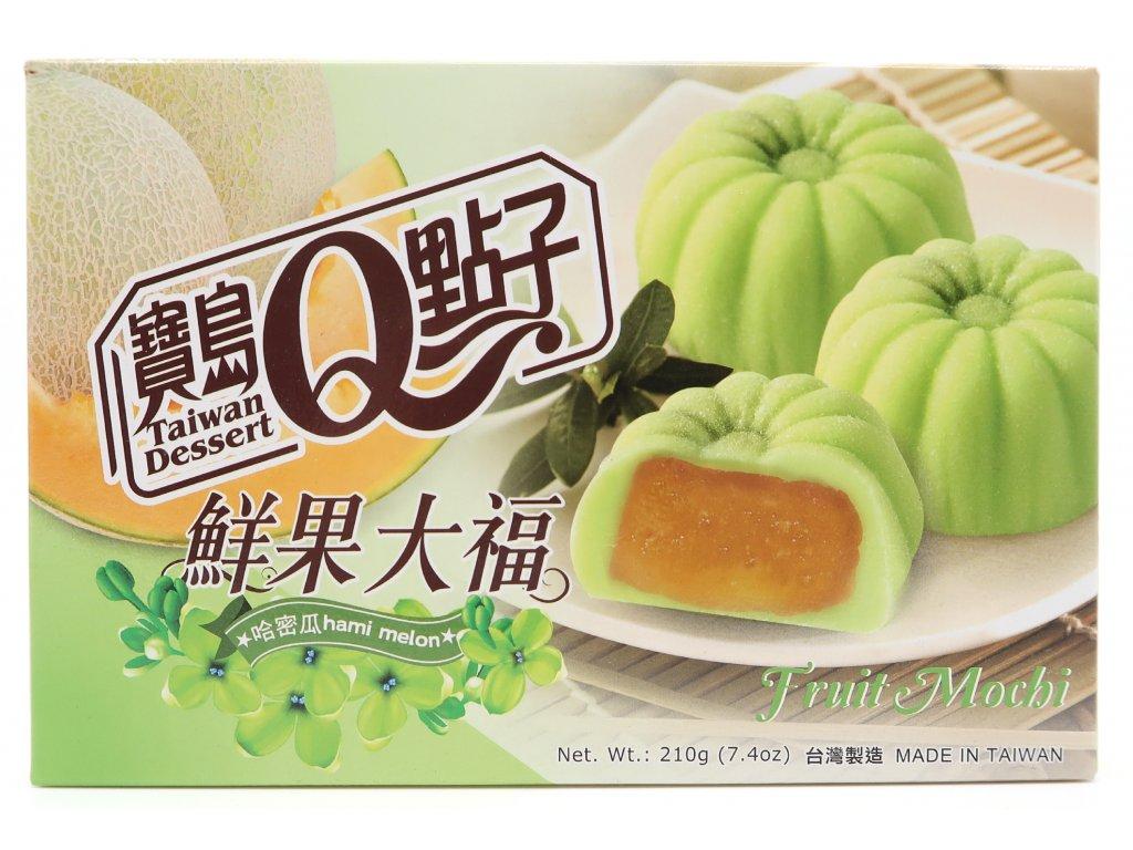 Mochi rýžové koláčky žlutý meloun - PEPIS.SHOP