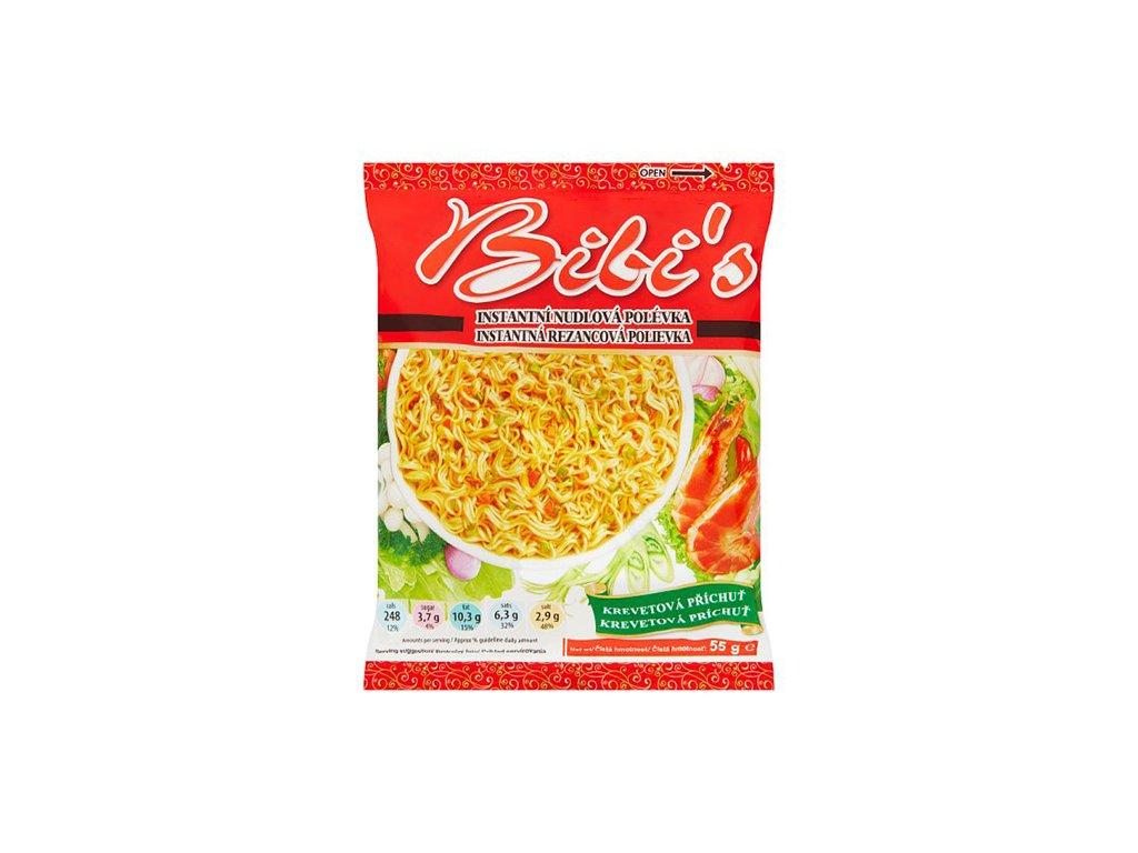 Acecook Bibi s Intantní Nudlová Polévka Krevetová 55g VNM
