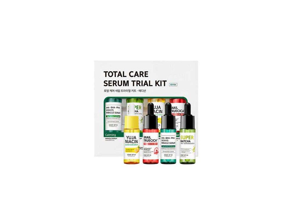 SOME BY MI Total Care Serum Trial Kit Sada Sér Pro Kompletní Péči 147g KOR