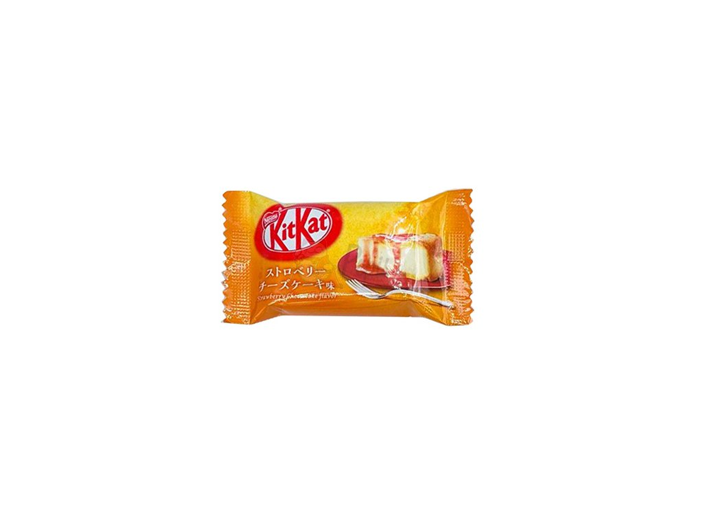 Kitkat Mini Strawberry Cheesecake 1ks 9,9g JAP