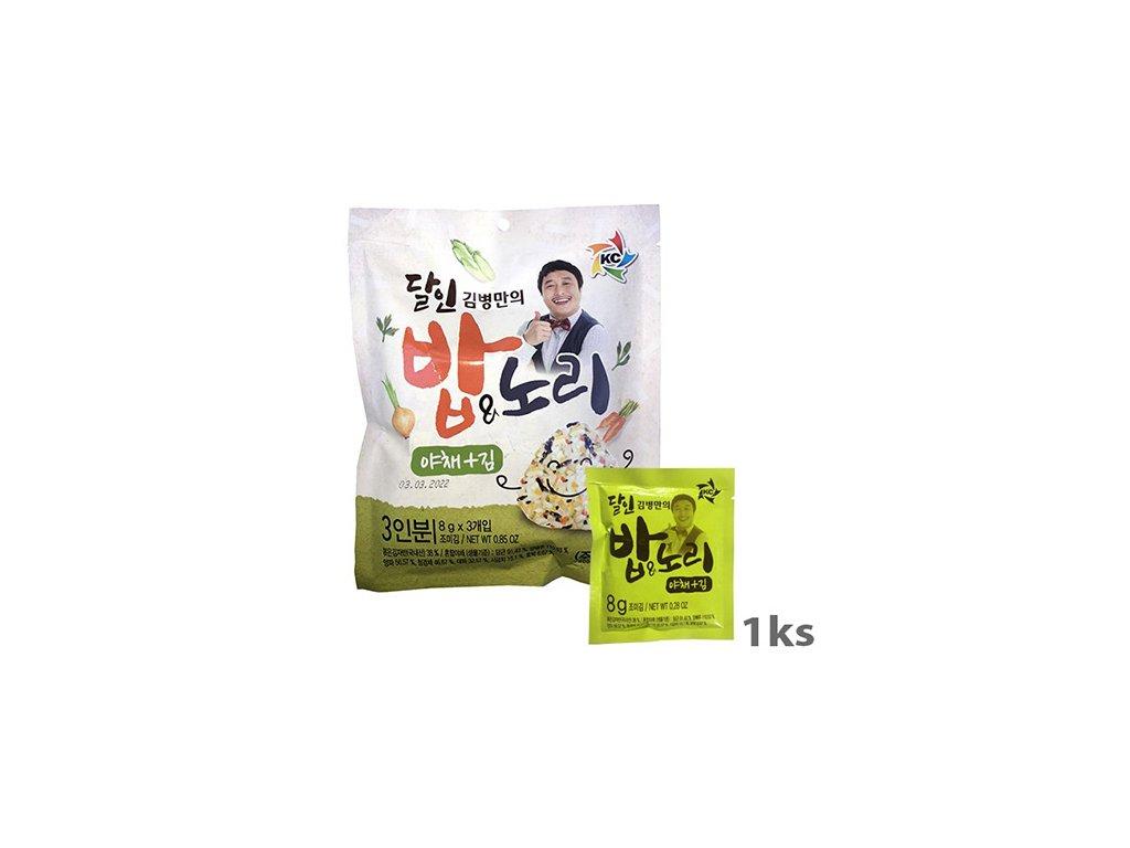 Master Kim Mořské Řasy Koření Zeleninové 1ks 8g KOR